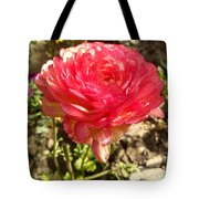 Double Coloured Rose Tote Bag