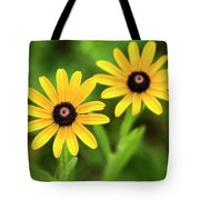 Double Daisies Tote Bag