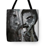 Double Portrait Tote Bag