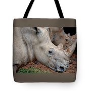 Double Rhino Tote Bag