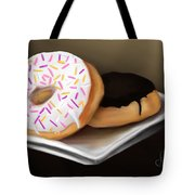 Doughnut Life Tote Bag