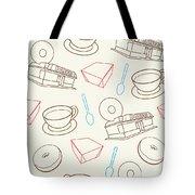 Doughnut_wallpaper_f3 Tote Bag