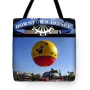 Downtown Disney Tribute Poster 2 Tote Bag