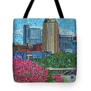 Downtown Raleigh Tote Bag