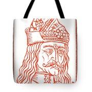 Dracula Or Vlad Tepes, 1491 Woodcut Tote Bag
