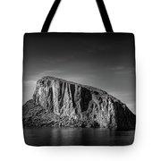 Drama At The Lake  Tote Bag