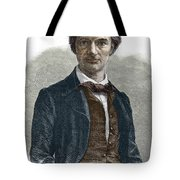 Drawing Of Charles Baudelaire Tote Bag