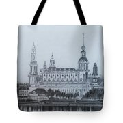 Dresden Cathedral- Dresden Tote Bag