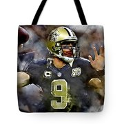 Drew Brees Tote Bag