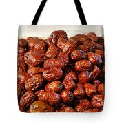 Dried Chinese Red Dates Tote Bag