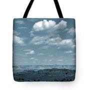 Drifting Clouds And Shifting Shadows Tote Bag