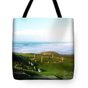 Droskyn Sundial Perranporth Tote Bag