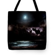 Drummer's Moon Tote Bag