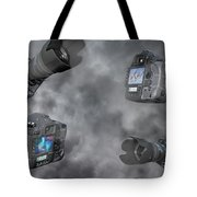 Dslr Cameras Tote Bag