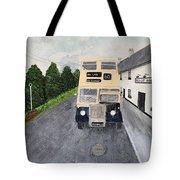 Dublin Bus Painting Tote Bag