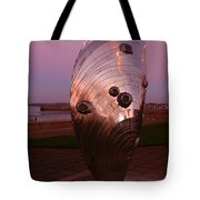Dusk At The Sculpture Tote Bag
