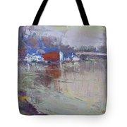 Dusk At Tonawanda Canal Tote Bag