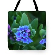 Dwarf Bluebell Detail Tote Bag