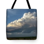 Dying Thunderstorms At Sunset 006 Tote Bag
