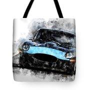 E-type Racing Tote Bag