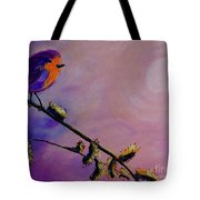 Early Bird Tote Bag by Jacqueline Athmann