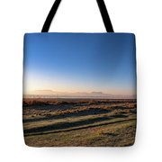 Early Morning Sunrise In Clarens Tote Bag