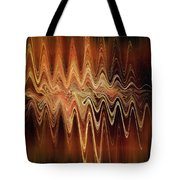 Earth Frequency Tote Bag