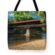 East Side Bridge Tote Bag by James Billings