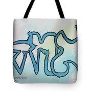 Echad  Tote Bag by Hebrewletters Sl