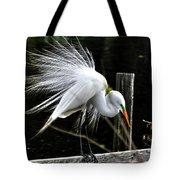 Egret Pride Tote Bag