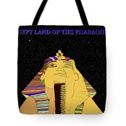 Egyptian Night Travel Poster A Tote Bag