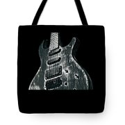 Electric Guitar Musician Player Metal Rock Music Lead Black Tote Bag