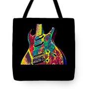 Electric Guitar Musician Player Metal Rock Music Lead Tote Bag