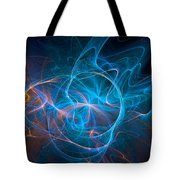 Electric Universe Blue Tote Bag by Don Northup