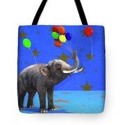 Elephant Celebration Tote Bag