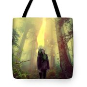 Elf With Flame Tote Bag