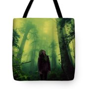 Elf With Halo Tote Bag