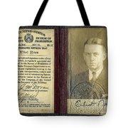 Eliot Ness Treasury Id Tote Bag