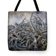 Elk Antlers Digital Art Tote Bag