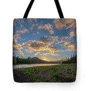 Elk Lake Sunset  Tote Bag by Matthew Irvin