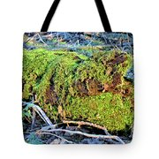 Emerald Tree Tote Bag