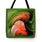 Emerging Tulips Tote Bag