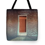 Empty Old Brick House Grafton Ghost Town Tote Bag