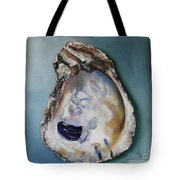 Empty Oyster Shell Tote Bag