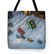Empty Swings Tote Bag