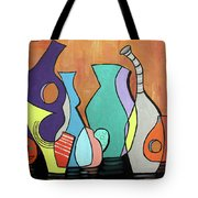 Empty Vases Tote Bag by Anthony Falbo