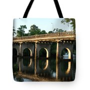 End Of An Era, East Innisfail Jubilee Bridge, Fnq Au  Tote Bag