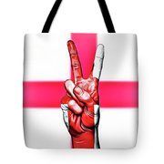 England Peace Flag Tote Bag