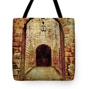 Enter Medieval Tote Bag