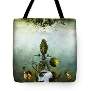 Ephemeral Architecture Tote Bag